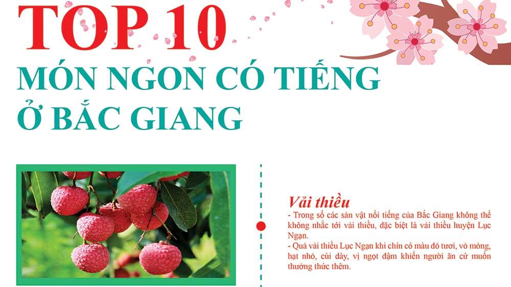 Top 10 món ngon có tiếng ở Bắc Giang